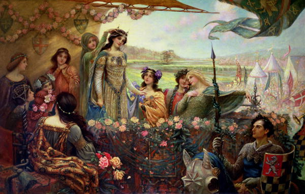 Lancelot-and-Guinevere-xx-Herbert-James-Draper